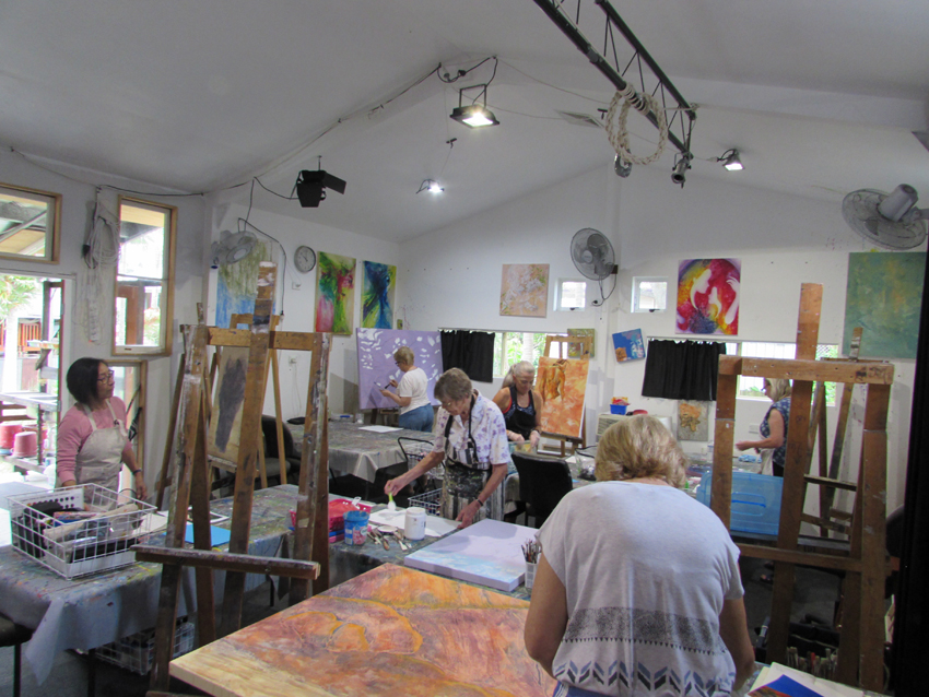 Online Instudio Art Classes Workshops For Adults In Brisbane Inspiration Interior Design Courses Brisbane Painting