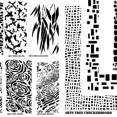 australian stencil designs